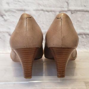 Aldo Shoes - ALDO Taupe Wedge Heels 5